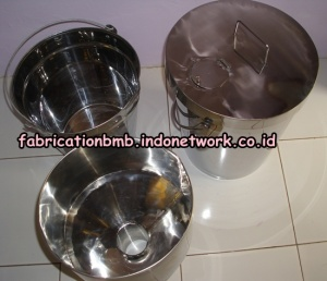 ember stainless , ember gantung stainless , stainless bucket , corong stainless, ember air (2)