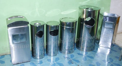 tempat-sampah-stainless-standing-ashtray-stainless-tongsampah