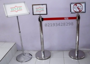 tiang antrian , standing barrier , gambar tiang pembatas] (9)